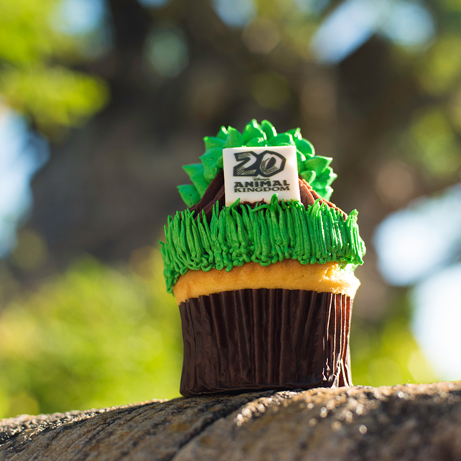 Tree of Life Cupcake at Disney's Animal Kingdom for Party for the Planet