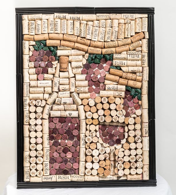 Corks on a Canvas