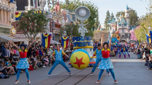 'Pixar Play Parade' at Disneyland Resort