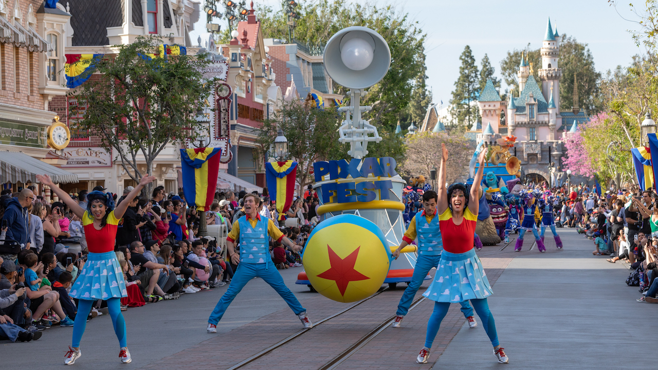 10 Things You Didn T Know About Pixar Play Parade And Paint The Night At The Disneyland