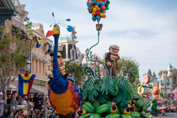 'Pixar Play Parade' at the Disneyland Resort