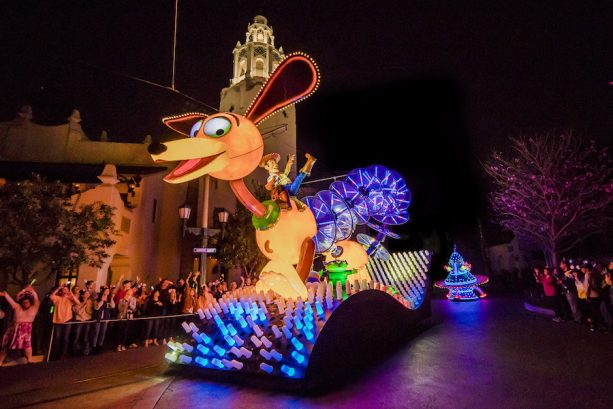 'Paint the Night' Parade at the Disneyland Resort