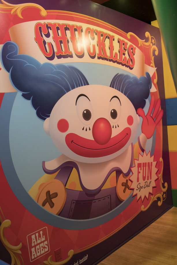 Chuckles the Clown in Toy Story Mania