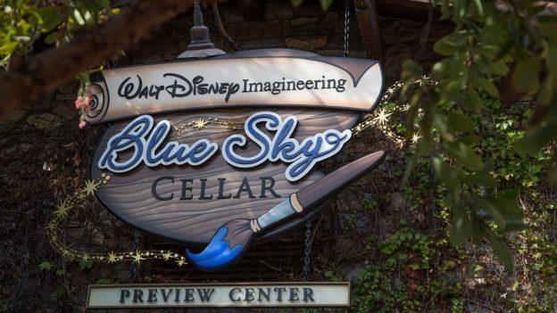 Pixar Pier Sneak Peek at Blue Sky Cellar