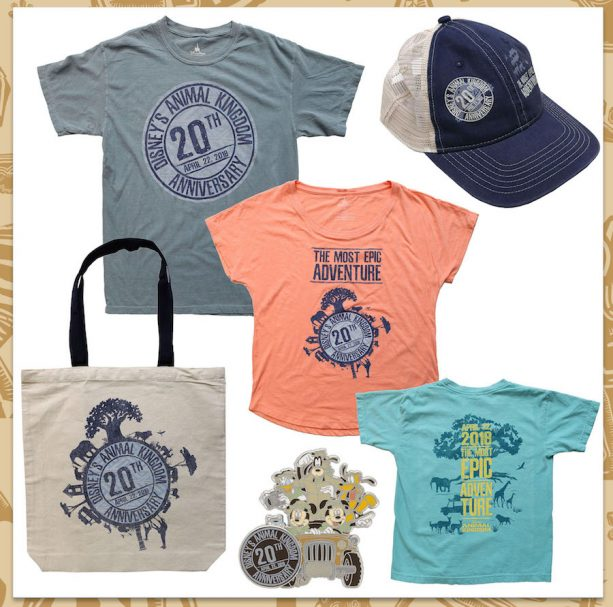 'I Was There' Merchandise for the 20th Anniversary of Disney's Animal Kingdom