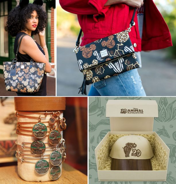 Dooney & Bourke Animal-Print Handbags, ALEX AND ANI Bracelets and Commemorative 20th Anniversary Baseball Hat