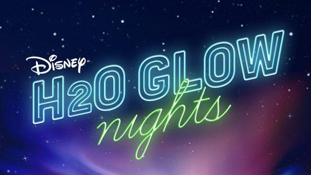 H20 Glow Nights Banner, Walt Disney World