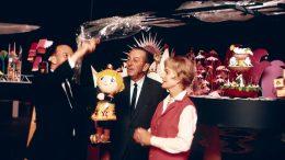 Walt Disney and Disney Artist and Designer Mary Blair