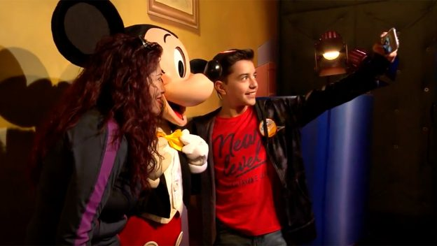 Luis Ángel Jaramillo of 'Coco' Visits Disneyland Park