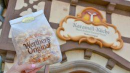 Werther's Original Caramel Popcorn from Karamell-Küche at Epcot