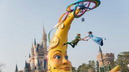 Peter Pan and Wendy take flight, Tokyo Disneyland Resort