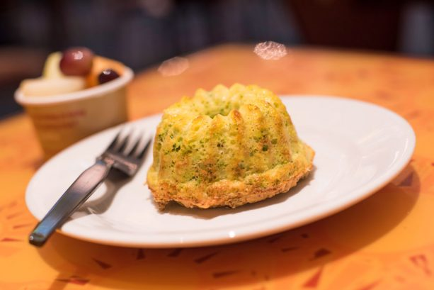 Broccoli Egg White Soufflé at Sunshine Seasons at Epcot