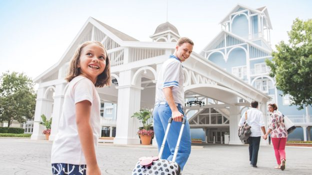 Guests at Disney's Beach Club Resort at Walt Disney World