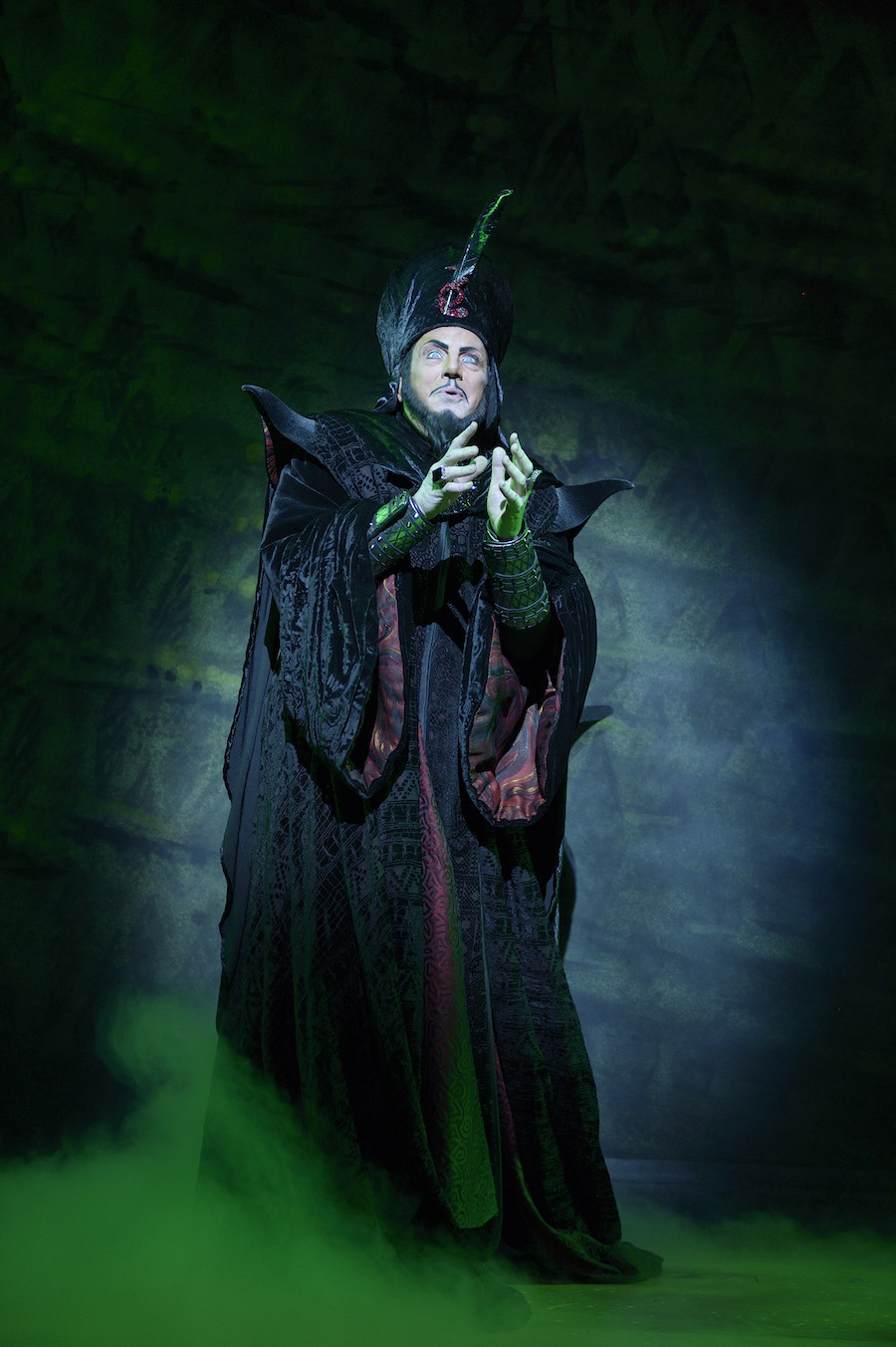 Jonathan Freeman Playing Jafar in Disney's 'Aladdin'