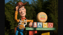 Woody in Toy Story Land at Disney's Hollywood Studios