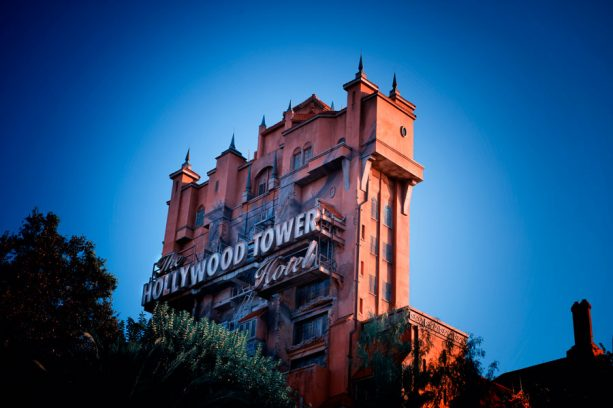 The Twilight Zone Tower of Terror at Disney's Hollywood Studios