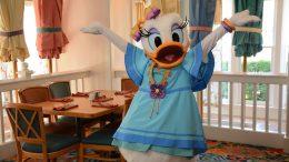 Daisy at Cape May Café at Disney's Beach Club Resort