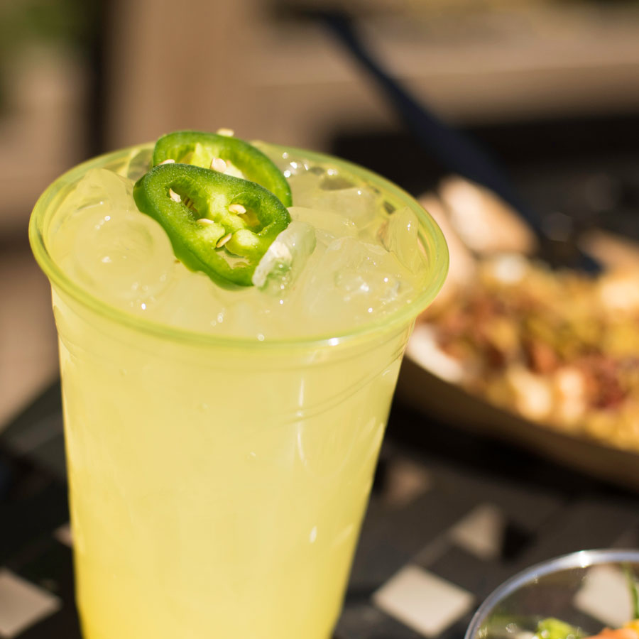 Disney California Adventure Food & Wine Festival - Jalapeno Lime Margarita