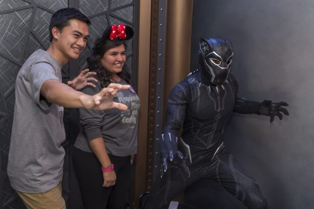 Black Panther at Disney California Adventure Park