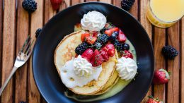 Lemon Ricotta Pancakes at STK at Disney Springs