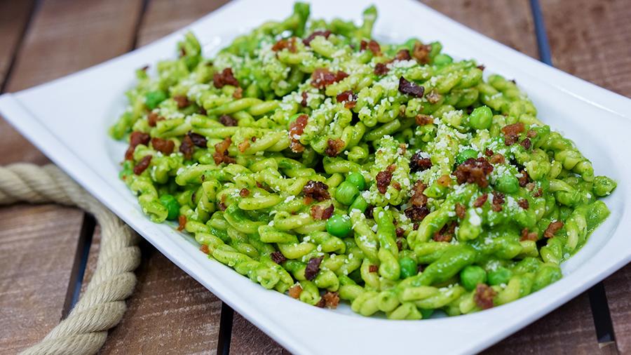 Pixar Fest Green Pesto Salad