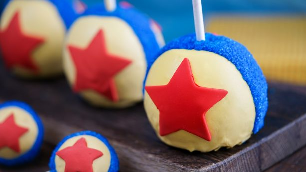 Pixar Ball Apple and Cake Pops for Pixar Fest at Disneyland Resort