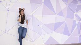 New 'Purple Wall' at Magic Kingdom Park