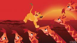 Disney Doodle: Simba at Disney's Animal Kingdom