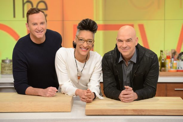 'The Chew' Hosts Clinton Kelly, Carla Hall and Michael Symon