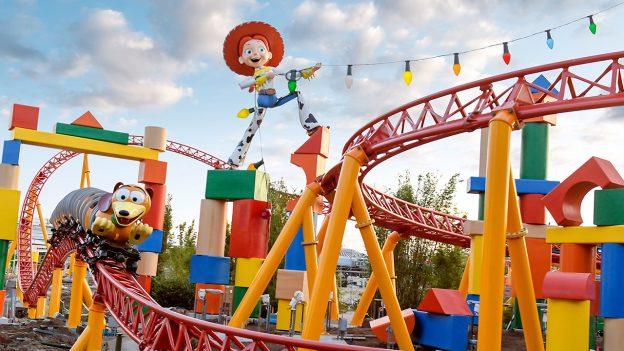 Slinky Dog Dash, Toy Story Land, Walt Disney World Resort