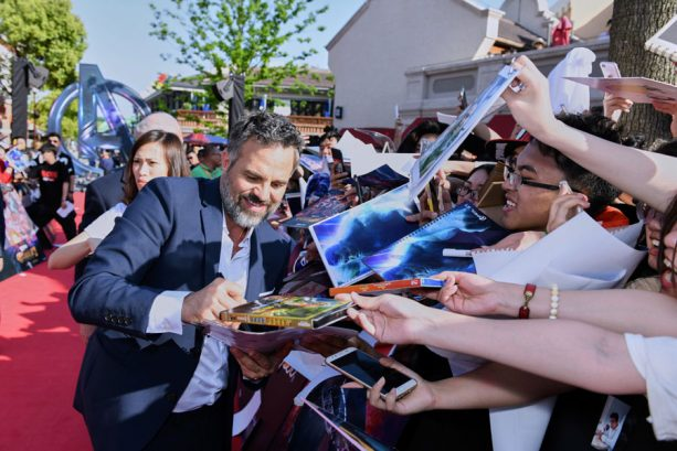 Mark Ruffalo at Shanghai Disney Resort