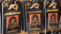 Chewbacca pins at Walt Disney World Resort