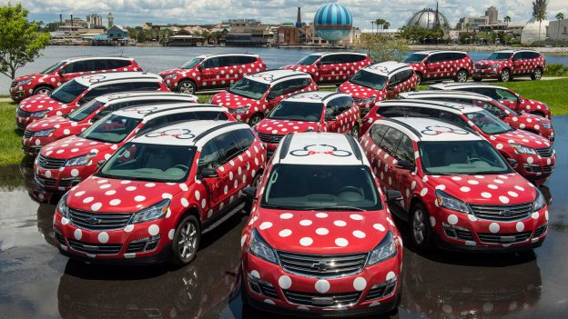 Minnie Van transportation service at Walt Disney World Resort