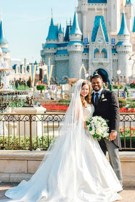 Wedding in Magic Kingdom Park