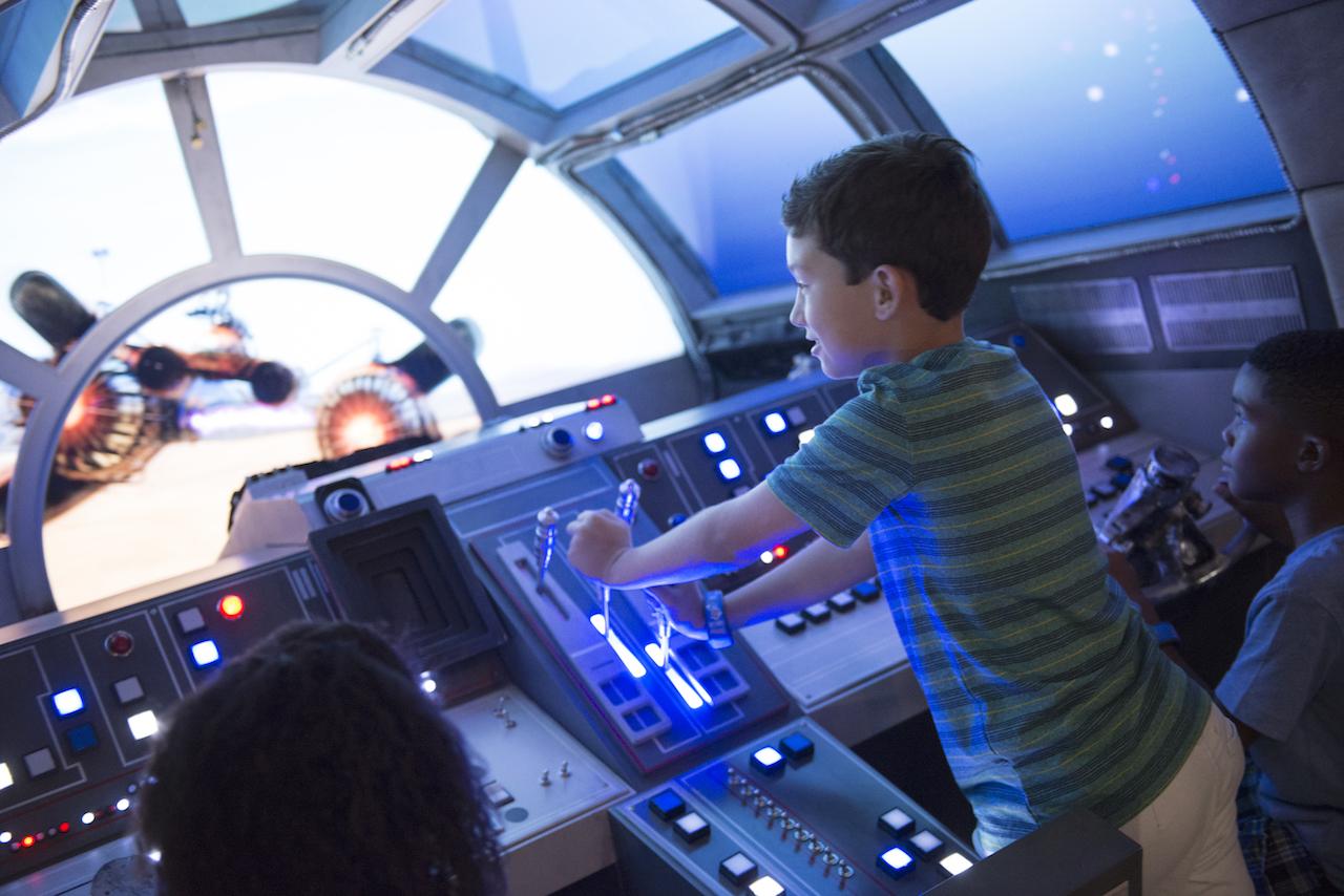 Star Wars: Millennium Falcon on the Disney Dream