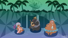 Country Bears Relax at Disney's Typhoon Lagoon
