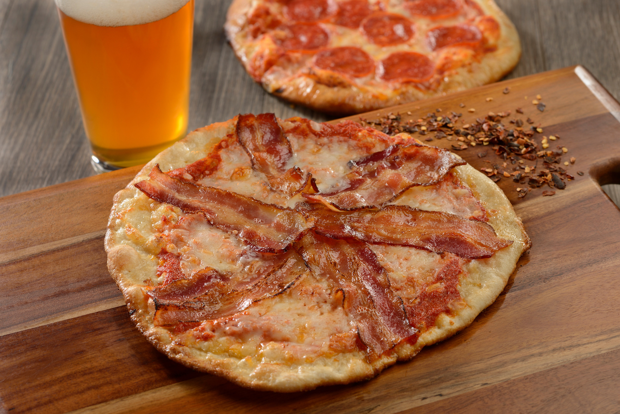 Applewood Bacon Artisanal Pizza at Everything POP Shopping & Dining at Disney's Pop Century Resort