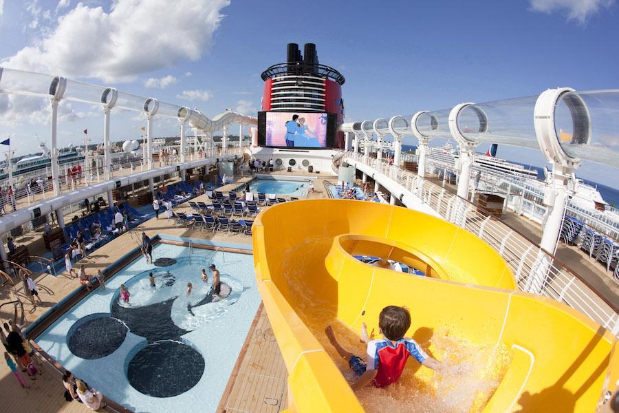 Mickey's Pool in the Disney Fantasy