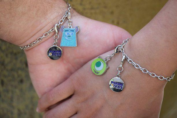Pixar Fest merchandise at the Disneyland Resort - Pixar-themed friendship charm bracelets