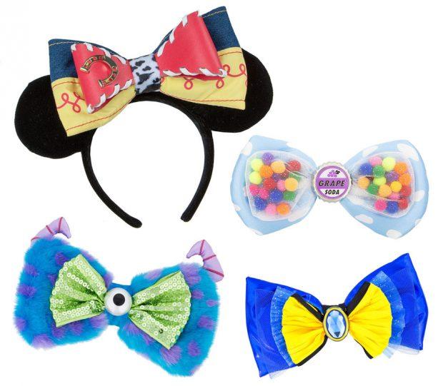 Pixar Fest merchandise at the Disneyland Resort- special themed headwear