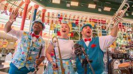 The Pixarmonic Orchestra performs during Pixar Fest at the Disneyland Resort