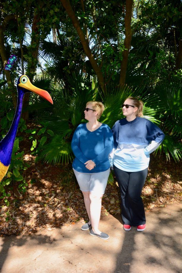 New Disney PhotoPass Magic Shot near UP! A Great Bird Adventure in Asia at Disney's Animal Kingdom