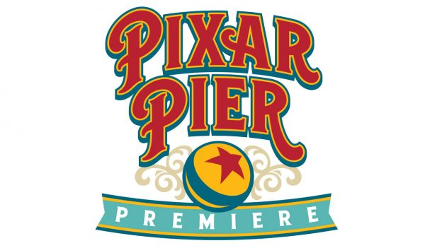 Pixar Pier Premiere Special Event at Disney California Adventure Park logo