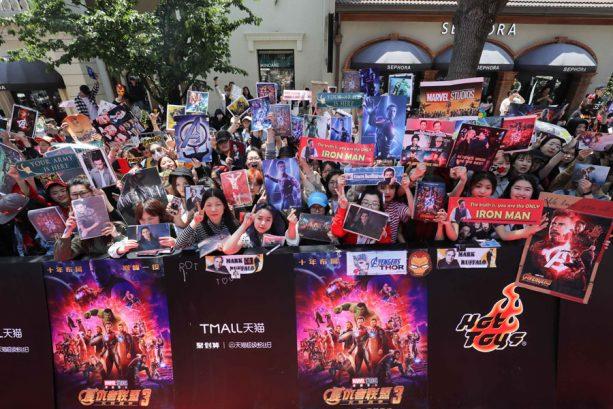 Avengers: Infinity War Cast Visit Shanghai Disney Resort