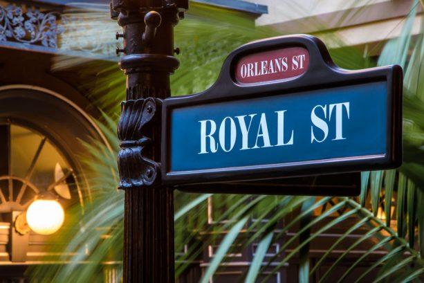 Disneyland park's Royal Street