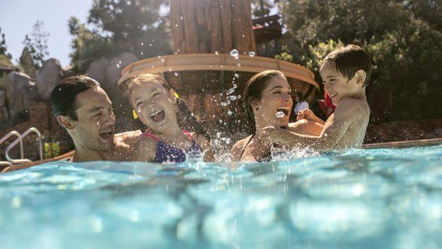 Pool fun at Disneyland Resort