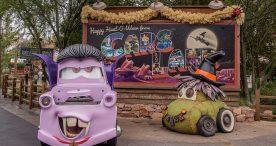Haul-O-Ween at Radiator Springs is Disney California Adventure park at the Disneyland Resort