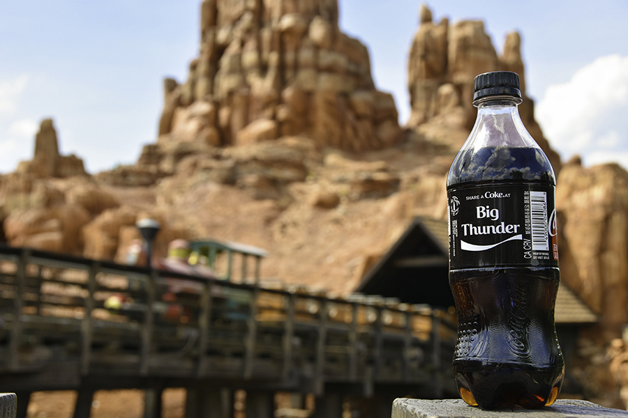 Coke Zero bottle, Big Thunder Mountain, Disney Parks