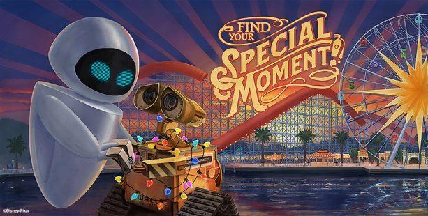 Pixar-Themed Billboards at Pixar Pier