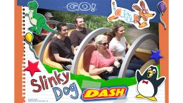 Attraction Photo at Slinky Dog Dash Coaster in Toy Story Land